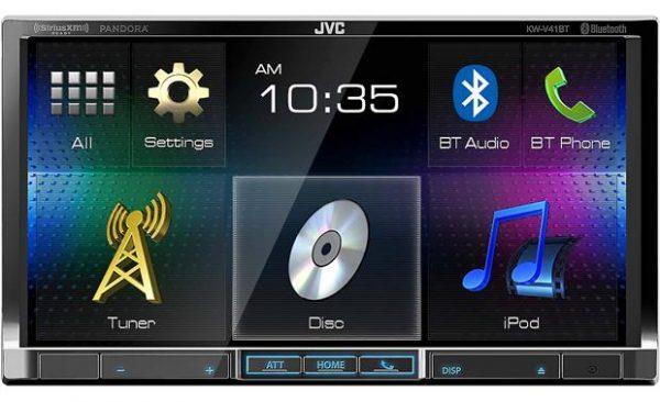 מערכת מולטימדיה JVC KW-V41